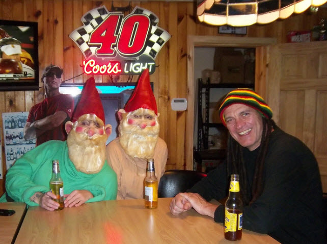 "Paul ""Marley"" & the Dwarfs Enjoying a Few!"
